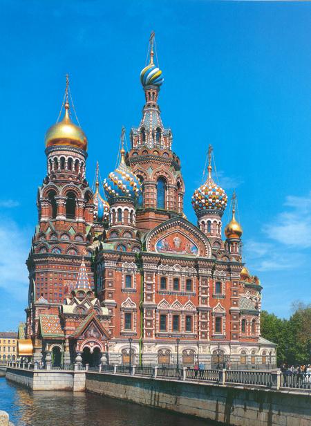 ...Александра II был возведен один из самых красивых и необычных соборов Санкт-Петербурга - храм Воскресения Христова.